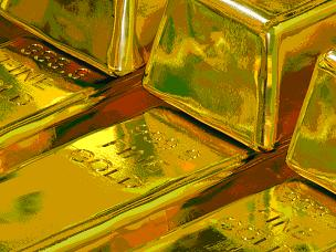 bars of gold ingots bullion