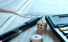 financial risk dice stock market