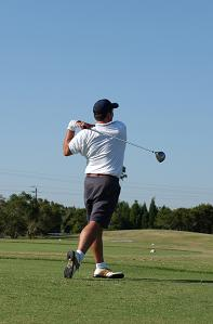 man golfing invest in what you know
