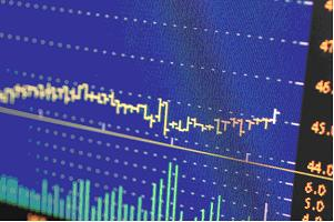 online stock trading chart image